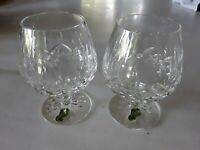 Waterford Crystal Brandy Glass  4&3/4 in   set of 2  New