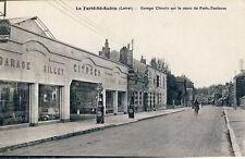 Ansichtskarte La Ferté-St-Aubin Garage Citroën um 1930 Frankreich France