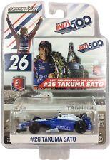 1:64 2017 Greenlight Takuma Sato #26 Andretti Autosport Indy 500 Winner