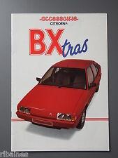 R&L Sales Brochure: Citroen BX Accessories, UK Undated