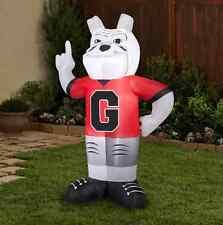 Inflatable NCAA Georgia Bulldogs 7 ft Mascot Uga Team Pride Self Inflating New