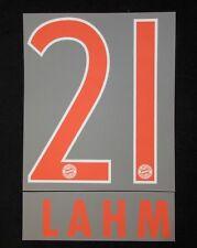 FC Bayern München LAHM Flock für adidas Away Trikot 2016-2017