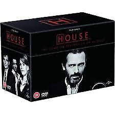 House - Series 1-8 - Complete (DVD, 2012, 46-Disc Set, Box Set) Mint Condition