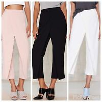 SSUE By Nasty Gal Double Up Layered Trousers E