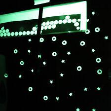 70 petits stickers autocollants phosphorescent lumineux la nuit chambre enfant