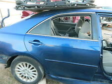 2007 2008 2009 2010 2011 TOYOTA CAMRY SEDAN REAR RIGHT PASSENGER  DOOR ASSEMBLY