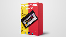 VIDEO MOTION - Transitions Pack, Glitch Transitions, VHS Transitions, SFX
