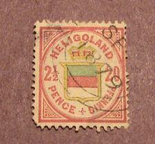 Heligoland Stamp Scott# 21e  Coat of Arms  1880 CV 125.00 L54