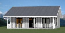 30x26 House -- 2 Bedroom 1 Bath -- 780 sq ft -- PDF Floor Plan -- Model 2B