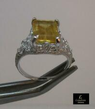 3.35 ct Royal Imperial Topaz Sterling Silver Ring