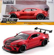 2016 Chevy Camaro SS Wide Body Rot Schwarz Chevrolet Red 1:24 Jada Toys 98136