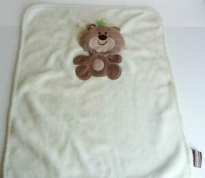 Blankets and Beyond Brown Flat Bear Dragonfly Lovey Baby Security HTF Nunu