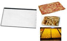 Teglie teglia placca lamiera professionale da forno per pizza e focaccia 60x40x1