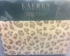 BRAND NEW RALPH LAUREN CHEETAH FULL SIZE SHEET SET BOHEMIAN