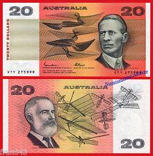 AUSTRALIA 20 Dollars dolares 1974-1985 Piick 46e  SC /  UNC