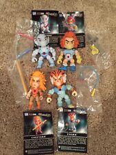 The Loyal Subjects Thundercats Tygra Panthro Cheetara Lion-O Lot