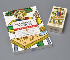 Yoav Ben-Dov CBD Tarot & Marseille Tarot Revealed Combination Book & Deck