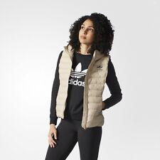 nwt~Adidas Originals SLIM VEST HOODIE Padded Sweat shirt Hooded Top~Women siez S