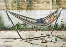 2 Person Hammock With Frame Garden Chair Outdoor Patio Swing