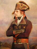 """perfect 24x36 oil painting handpainted on canvas """"Napoleon""""@NO8169"""