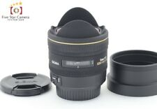 Excellent+++!! Sigma 10mm f/2.8 EX DC FISHEYE HSM for Canon from Japan
