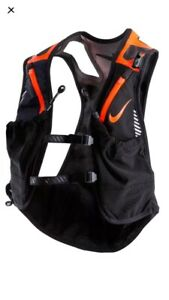 Nike Trail Kiger Vest Running Black Orange Unisex $185.00 Size Small NWT