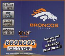Denver Broncos Paint Stencil for walls