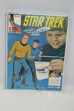 Vintage NOS Star Trek Oil Paint by Number Coloring Set (Hasbro, 1974) Sealed!