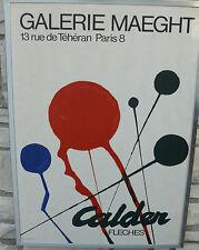 ALEXANDER CALDER FLECHES GALERIE MAEGHT PARIS