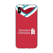 Liverpool Style Shirt Hard Silicone iPhone 5 6 7 8 X XS XR 11 Phone Cover Case