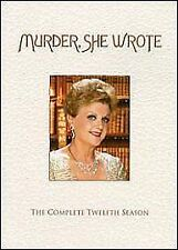 Murder She Wrote - Series 12 Complete (DVD, 2011, 6-Disc Set)
