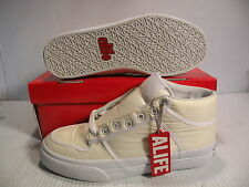ALIFE EVERYBODY MID PARACHUTE SNEAKERS MEN SHOES WHITE  SPO81 SIZE 11 NEW