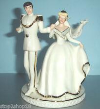 Lenox Disney Wedding CAKE TOPPER Cinderella & Prince Charming Magical Moment New