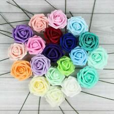 10X Colourfast Foam Roses Artificial Flowers Party Wedding Bouquet Home Decor