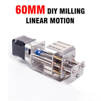 Z Axis Slide 60MM DIY Milling Linear Motion CNC Engraving Machine Woodworking