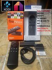 Fire TV Stick 2nd Gen w Alexa Voice Remote KODI 17.6 Premium Build