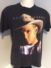 Vintage Garth Brooks Fresh Horses Tour T Shirt 90s Country Men's Size L