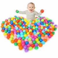50PC 5.5cm Ocean Ball Plastic Colorful Balls Kid Secure Baby Pit Swim Pool Toys