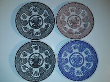 """SPODE ARCHIVE COLLECTION FILIGREE 4 LUNCH PLATES 9.25"""" NEW"""