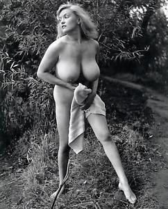 PAULA PAGE 8 x 10 Photo No 1 Vintage Tits Big Boobs