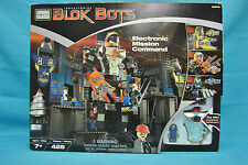 Mega Bloks 9370 Transforming Blok Bots Electronic Mission Command New Sealed