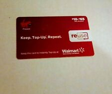 VIRGIN Mobile ReUse Prepaid Card $25, HAS BEEN STRATCHED BUT NEVER USED
