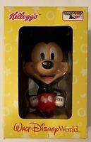 Mickey Mouse Walt Disney World Bobble Head Toys Kellogg's New NIB 2002