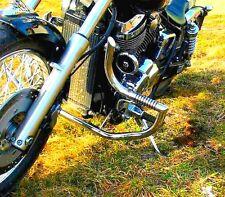 STAINLESS STEEL CUSTOM CRASH BAR GUARD + PEGS HONDA VT 750 SPIRIT (-2007),CHAIN