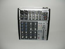 Phonic MM1002a Mixer 6 Channel, No power supply Untested