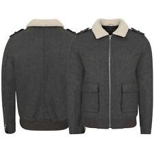 Wool Bomber, Harrington Regular Size Coats & Jackets for Men