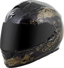 Scorpion Exo-T510 Full-Face Azalea Helmet Black Gold