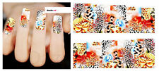 Nail Art Sticker Water Decals Transfer Stickers Animal Print (DX1506)