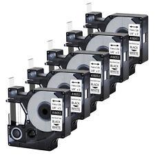 5pk For Dymo Rhino 42005200 Heat Shrink Tube 18053 Industry Label Tape 38x5