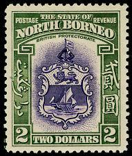 North Borneo 1939 RARE 2$ SG 316 MLH ! CV $ 400